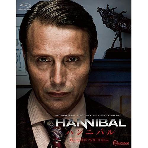 【取寄商品】 BD/HANNIBAL/ハンニバル Blu-ray-BOX フルコース Edition(Blu-ray)/海外TVドラマ/DAXA-5674 [3/27発売]