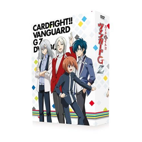 ★DVD/カードファイト!! ヴァンガードG Z DVD-BOX (4DVD+CD)/TVアニメ/OVBA-1068