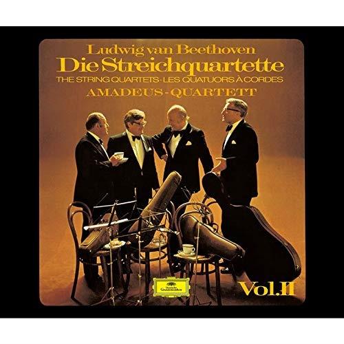 SACD/ベートーヴェン:弦楽四重奏曲第11番-第16番、大フーガ ピアノ四重奏曲第1番-第3番 (SHM-SACD) (初回生産限定盤)/アマデウス弦楽四重奏団 エッシェンバッハ/UCGG-9180