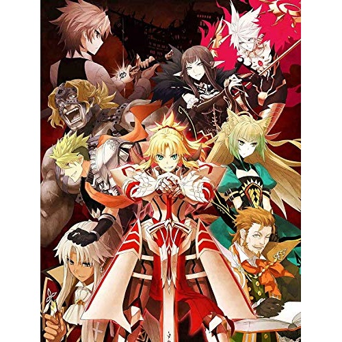 BD/Fate/Apocrypha Blu-ray Disc BoxII(Blu-ray) (5Blu-ray+CD) (完全生産限定版)/TVアニメ/ANZX-14127