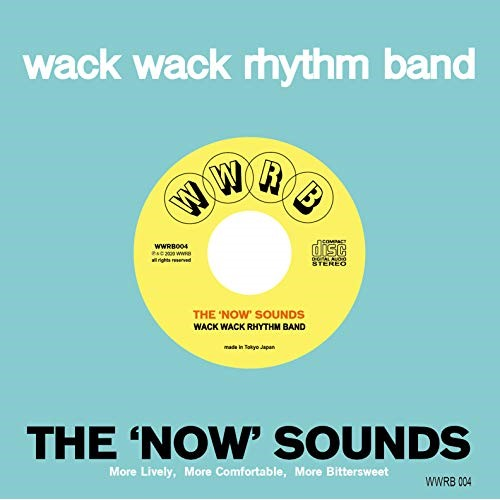 卓越 CD THE 'NOW' SOUNDS WACK 4 WWRB-4 代引き不可 RHYTHM 4発売 BAND