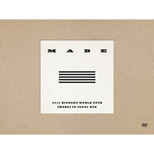 DVD/BIGBANG/2015 BIGBANG WORLD TOUR(MADE) IN SEOUL DVD (4DVD+2CD) (初回生産限定版)/AVBY-58337