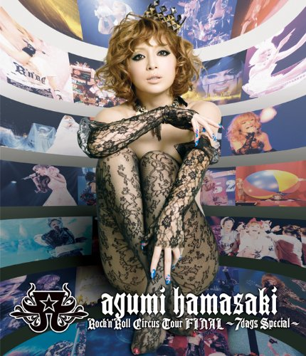 BD/ayumi hamasaki Rock'n'Roll Circus Tour FINAL ~7days Special~(Blu-ray)/浜崎あゆみ/AVXD-91631