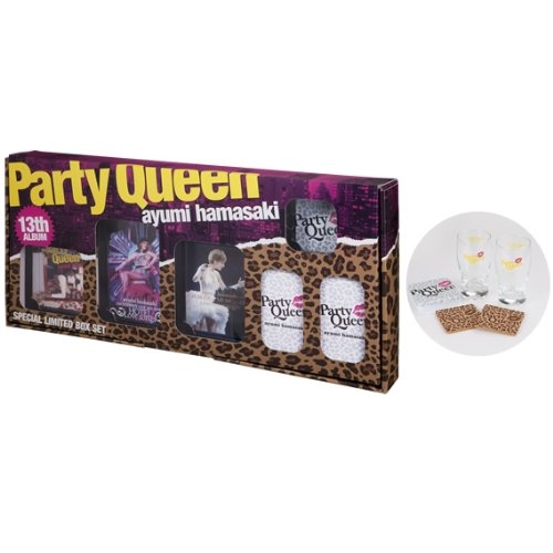 CD/Party Queen SPECIAL LIMITED BOX SET (CD+2DVD+Blu-ray) (初回生産限定盤)/浜崎あゆみ/AVZD-38501