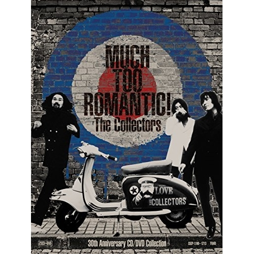 TOO (23CD+DVD) Collection Anniversary The CD/DVD CD/MUCH (完全受注限定生産盤)/The Collectors ROMANTIC! Collectors/COZP-1190 30th
