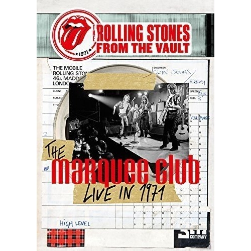 BD/From The Vault - The Marquee Club Live in 1971(Blu-ray) (Blu-ray+CD) (通常版)/ザ・ローリング・ストーンズ/GQXS-90007