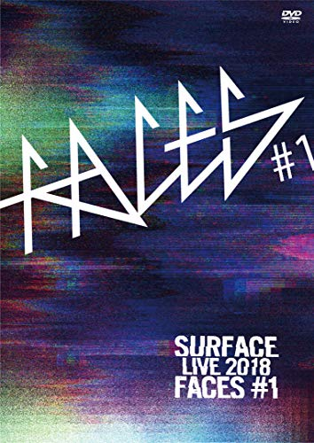 DVD/SURFACE LIVE 2018「FACES #1」/SURFACE/HWDL-27