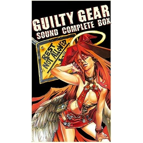 CD/GUILTY GEAR SOUND COMPLETE BOX (ライナーノーツ) (完全生産限定盤)/ゲーム・ミュージック/KDSD-20001