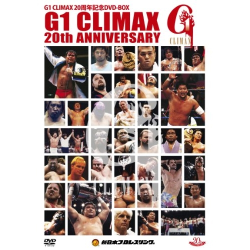 ★DVD/スポーツ/G1 CLIMAX 20周年記念DVD-BOX 1991-2010/TCED-876