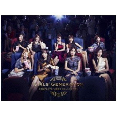 DVD/少女時代/GIRLS' GENERATION COMPLETE VIDEO COLLECTION (完全限定版)/UPBH-29038