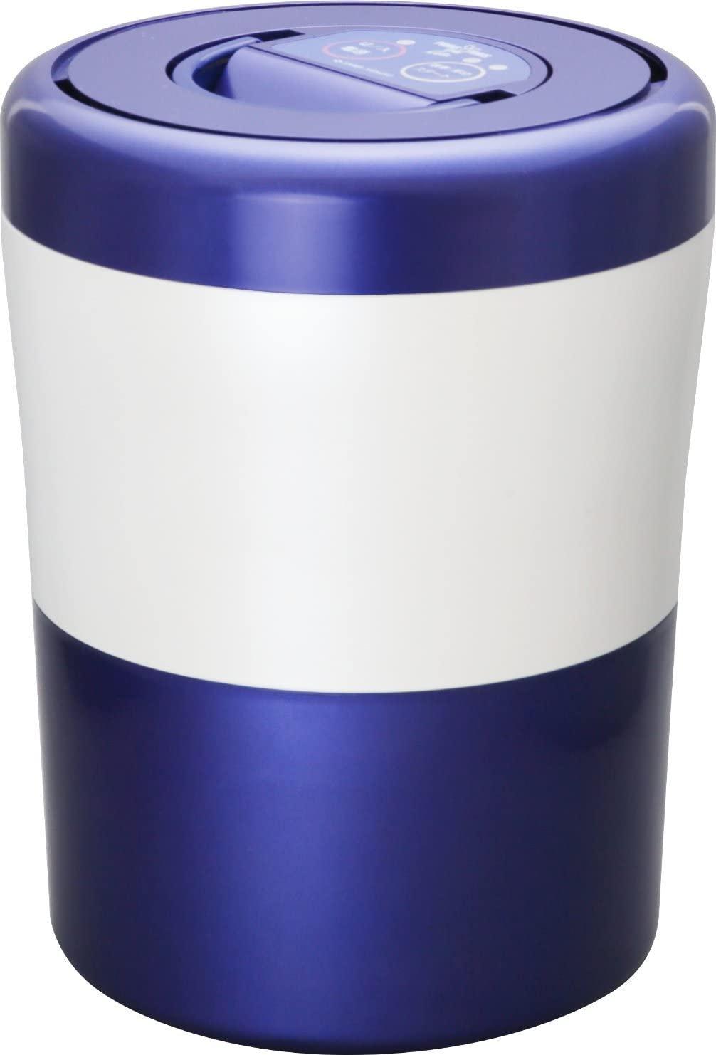 ◆高品質 島産業 家庭用生ごみ減量乾燥機 パリパリキューブライトアルファ ブルーストライプ メーカー取寄 オンラインショッピング