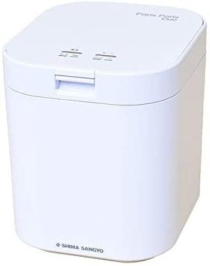 全品送料無料 島産業 生ゴミ減量乾燥機 パリパリキュー PPC-11 WH 即日出荷 メーカー取寄