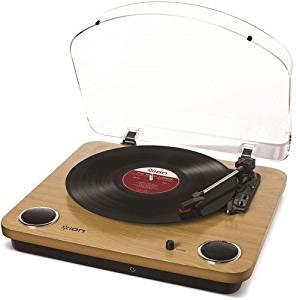 【送料無料】 ION Audio Max LP レコードプレーヤー USB端子 スピーカー内蔵 (取寄商品)