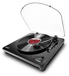 【送料無料】 ION Audio レコードプレーヤー Bluetooth対応 USB端子 Air LP ブラック (取寄商品)