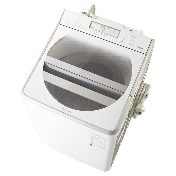 10%OFF NA-FA120V3-W パナソニック Panasonic 全自動洗濯機 お得 洗濯12kg 温水泡洗浄W ホワイト