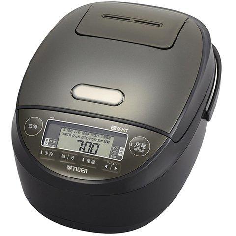 JPK-H100-K タイガー TIGER [圧力IHジャー炊飯器 炊きたて 5.5合炊き ブラック]