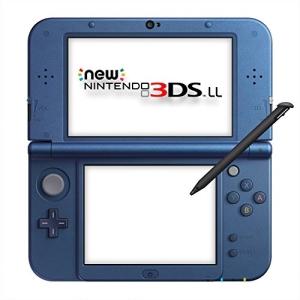 【送料込み】 ニンテンドー/ハード (本体)/Newニンテンドー3DS LL メタリックブルー/RED-S-BAAA
