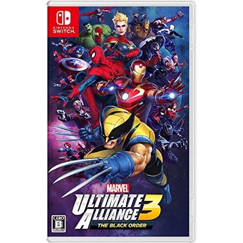 【お取り寄せ】 ニンテンドー/MARVEL ULTIMATE ALLIANCE 3: The Black Order(マーベルアルティメットアライアンス ザ ブラックオーダー)-Switch/NintendoSwitchソフト