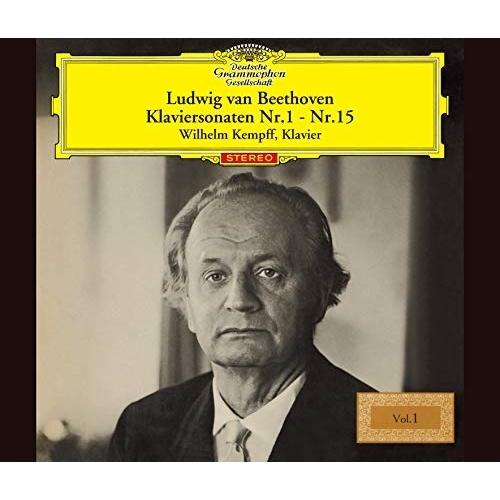 SACD ベートーヴェン:ピアノ NEW ソナタ全集Vol.1 低廉 SHM-SACD UCGG-9160 ヴィルヘルム 初回生産限定盤 ケンプ