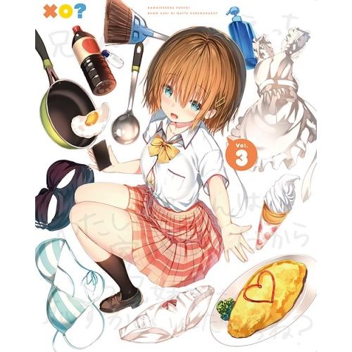 【取寄商品】 BD/可愛ければ変態でも好きになってくれますか? 03(Blu-ray)/TVアニメ/KAXA-7783