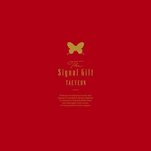 【取寄商品】 BD/The Signal Gift(Blu-ray) (Blu-ray+CD) (完全限定生産版)/テヨン/POXS-21001