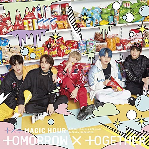 ▼CD/MAGIC HOUR (初回限定盤C)/TOMORROW × TOGETHER/TYCT-39117 [1/15発売]