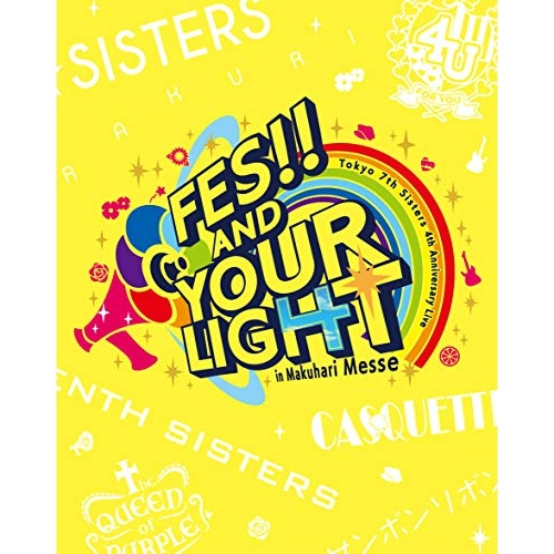 BD/t7s 4th Anniversary Live -FES!! AND YOUR LIGHT- in Makuhari Messe(Blu-ray) (通常盤)/Tokyo 7th シスターズ/VIXL-271