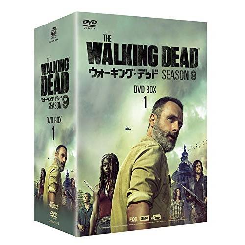 【取寄商品】 DVD/ウォーキング・デッド9 DVD BOX-1/海外TVドラマ/DABA-5581