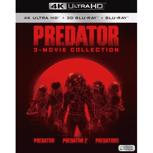 ★BD/プレデター 4K ULTRA HD トリロジーBOX (4K Ultra HD Blu-ray3枚+3D Blu-ray1枚+2D Blu-ray3枚)/洋画/FXHA-50409