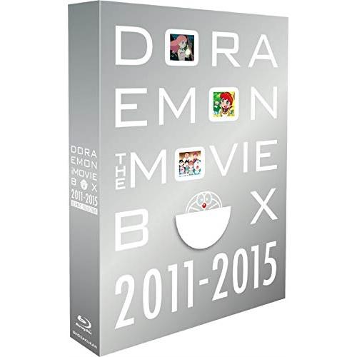 【取寄商品】 BD/DORAEMON THE MOVIE BOX 2011-2015 ブルーレイ コレクション(Blu-ray) (初回限定生産版)/劇場アニメ/PCXE-60178