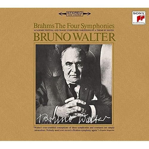 CD/ブラームス:交響曲全集・管弦楽曲・協奏曲・声楽曲集 (5ハイブリッドCD+CD) (歌詞対訳付) (完全生産限定盤)/ブルーノ・ワルター/SICC-10306