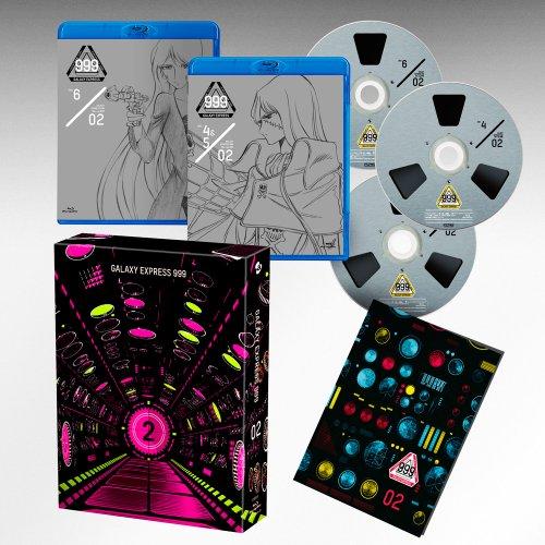 BD/松本零士画業60周年記念 銀河鉄道999 TVシリーズ Blu-ray BOX-2(Blu-ray)/TVアニメ/AVXA-74118