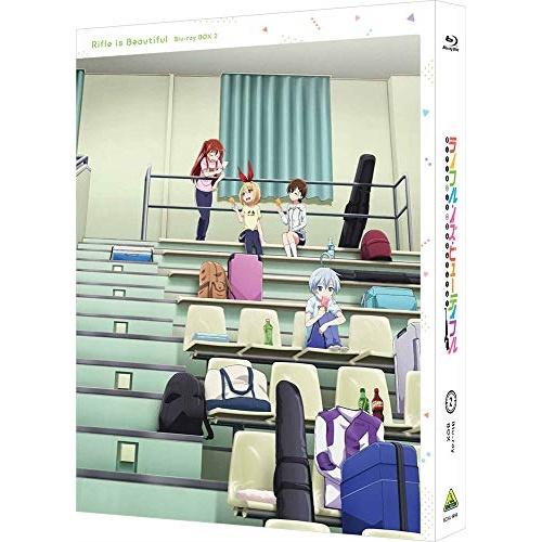 【取寄商品】 BD/ライフル・イズ・ビューティフル Blu-ray BOX 2(Blu-ray) (2Blu-ray+CD) (特装限定版)/TVアニメ/BCXA-1448