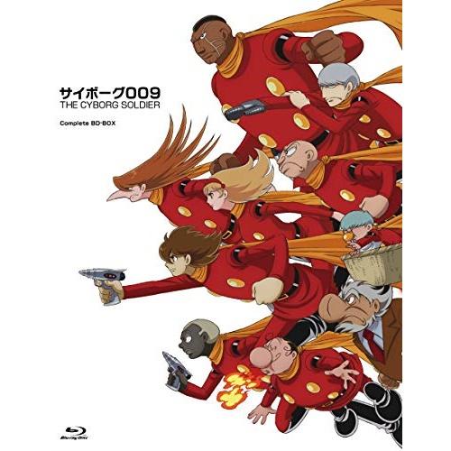 BD/「サイボーグ009 THE CYBORG SOLDIER」Complete BD-BOX(Blu-ray) (期間限定生産盤)/TVアニメ/EYXA-12856 [3/20発売]