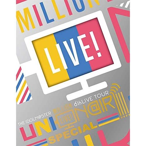 【取寄商品】 BD/THE IDOLM@STER MILLION LIVE! 6thLIVE TOUR UNI-ON@IR!!!! LIVE Blu-ray SPECIAL COMPLETE THE@TER(Blu-ray) (完全生産限定版)/アイドルマスターミリオンライブ!/LABX-38418 [8/26発売]