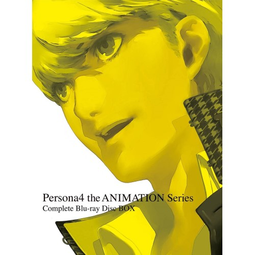 【取寄商品】 BD/Persona4 the ANIMATION Series Complete Blu-ray Disc BOX(Blu-ray) (完全生産限定版)/TVアニメ/ANZX-12291