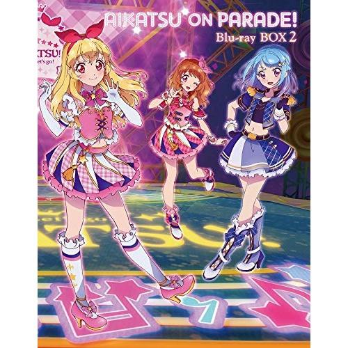 【取寄商品】 BD/アイカツオンパレード! Blu-ray BOX 2(Blu-ray)/キッズ/BIXA-9082 [8/5発売]