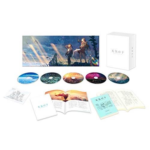 BD 天気の子 コレクターズ 市販 エディション セール価格 Blu-ray 本編Blu-ray1枚+本編4K TBR-30000D Ultra 劇場アニメ 初回生産限定版 HD Blu-ray1枚+特典Blu-ray3枚