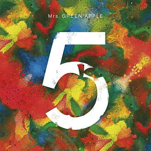 取寄商品 定番 CD 5 COMPLETE BOX CD+DVD+Blu-ray 完全生産限定盤 APPLE UPCH-29368 Mrs.GREEN メーカー再生品