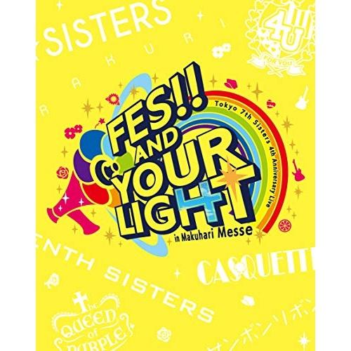 BD t7s 4th Anniversary Live -FES 高品質新品 AND YOUR LIGHT- in 通常盤 Blu-ray 春の新作続々 Messe Tokyo Makuhari シスターズ VIXL-271 7th