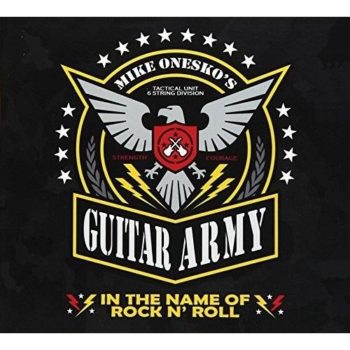 ギフト CD イン 高価値 ザ ネイム オブ ロックン アーミー マイク ロール ギター BSMF-2499 オネスコズ