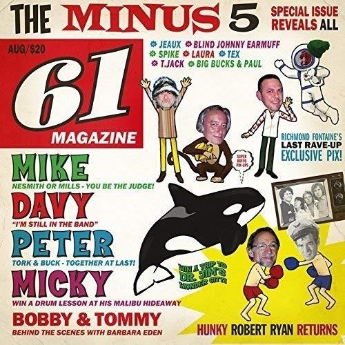 時間指定不可 CD オブ 爆買い新作 モンキーズ アンド マイナス メン ファイヴ BSMF-6089
