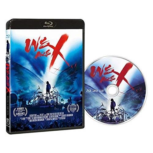 BD セール 登場から人気沸騰 WE ARE X コレクターズ Blu-ray エディション 訳あり商品 TBR-27345D JAPAN