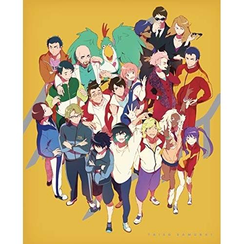 BD/体操ザムライ Blu-ray Disc BOX(Blu-ray) (2Blu-ray+CD) (完全生産限定版)/TVアニメ/ANZX-14831