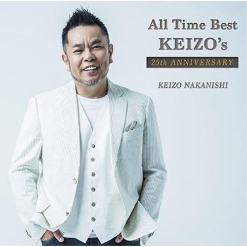 CD All Time セール特価品 Best KEIZO's 25th 初回限定盤 2CD+DVD WPZL-31222 予約販売品 ANNIVERSARY 中西圭三