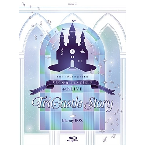 【取寄商品】 BD/THE IDOLM@STER CINDERELLA GIRLS 4thLIVE TriCastle Story Blu-ray BOX(Blu-ray) (本編ディスク6枚+特典ディスク1枚) (歌詞付) (初回限定生産版)/CINDERELLA GIRLS/COXC-1211