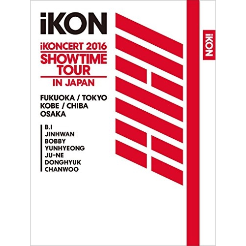 BD/iKONCERT 2016 SHOWTIME TOUR IN JAPAN(Blu-ray) (2Blu-ray+2CD+スマプラ) (初回生産限定版)/iKON/AVXY-58400