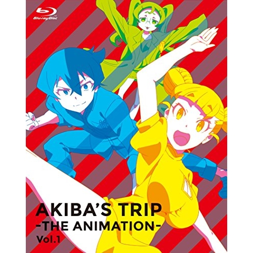 ☆ BD/「AKIBA'S TRIP -THE ANIMATION-」Blu-rayボックス Vol.1(Blu-ray) (2Blu-ray+CD)/TVアニメ/GDBB-1195