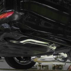 50系 エスティマ(2.4L2WD)用 リアマフラー (下向きテール)
