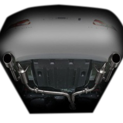 GS430/460(~2011年12月)用PFSループサウンドマフラー【ステンレステール】